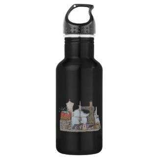 Hand Powered Sewing Machine Stainless Steel Water Bottle