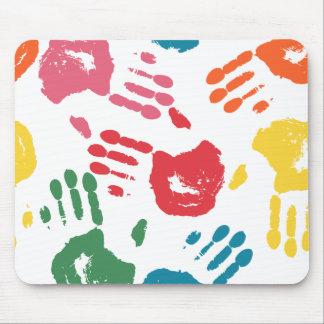 Hand Print Mouse Pad