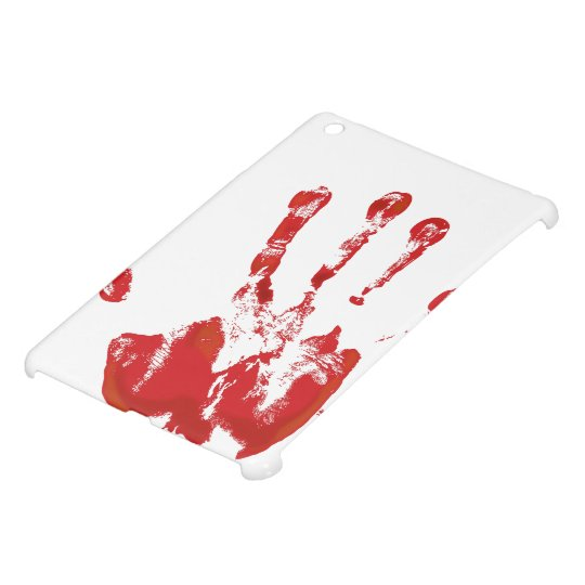 Hand Print - Red - 1 iPad Mini Cover