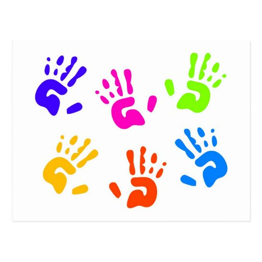 Hand Prints Post Cards