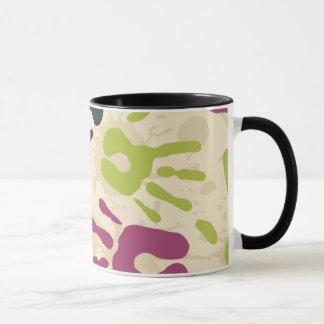 Hand Prints Ringer Mug