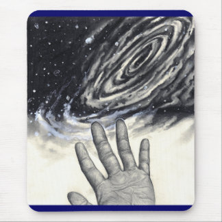 Hand Reaching for the Stars Mouse Pad