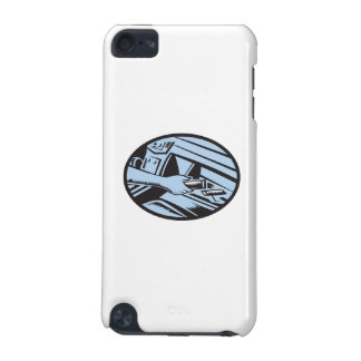 Hand Reaching in Glove Box for Energy Bar Oval Woo iPod Touch (5th Generation) Cover