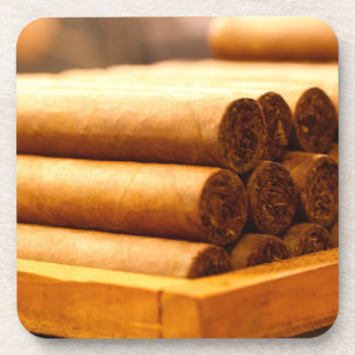 Hand Rolled Cigars from La Romana DR. Coaster