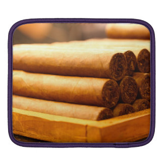 Hand Rolled Cigars from La Romana DR. iPad Sleeve