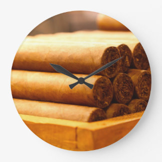 Hand Rolled Cigars from La Romana DR. Large Clock