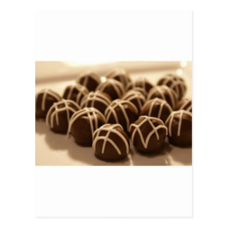 Hand-Rolled Peanut Butter Balls... Postcard
