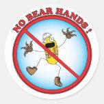 Hand Safety Sticker