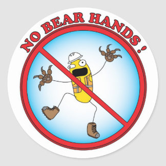 Hand Safety Sticker