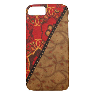 Hand sewn fiber, image iPhone 7 case