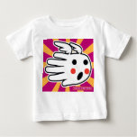 Hand shaped Hand Shaped Angel with Red Cheeks Baby T-Shirt