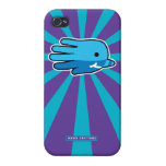 Hand shaped Hand Shaped Baby Narwhal Case For iPhone 4