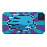 Hand shaped Hand Shaped Baby Narwhal iPhone 4 Case-Mate Case
