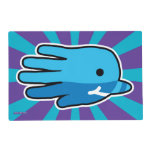 Hand shaped Hand Shaped Baby Narwhal Placemat