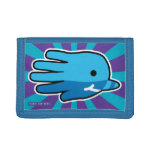 Hand shaped Hand Shaped Baby Narwhal Trifold Wallet