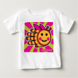 Hand shaped Hand Shaped Happy Honeybee Bee Baby T-Shirt