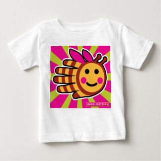 Hand Shaped Happy Honeybee Bee Infant T-shirt