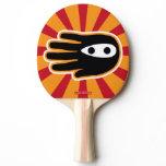 Hand shaped Hand Shaped Mini Ninja Warrior Ping-Pong Paddle