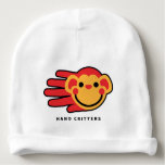 Hand shaped Hand Shaped Monkey Baby Beanie
