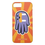 Hand shaped Hand Shaped Purple Walrus iPhone 8/7 Case