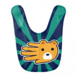 Hand shaped Hand Shaped Yellow Honey Bear Baby Bib