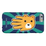 Hand shaped Hand Shaped Yellow Honey Bear Barely There iPhone 6 Case