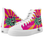 Hand shaped Hand Shaped Zombie Bee High-Top Sneakers