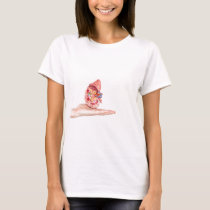 Hand showing model with inside of human kidney T-Shirt