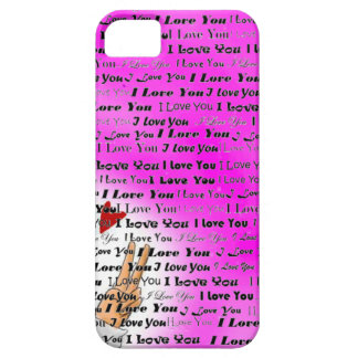 Hand Sign and I Love you iPhone SE/5/5s Case