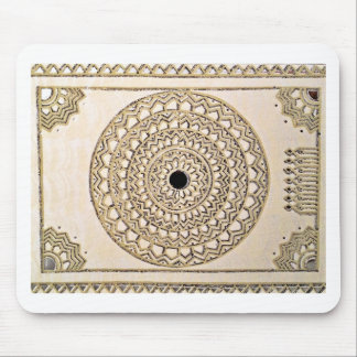 Hand sketched Indian pattern Mouse Pad