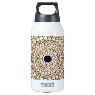 Hand sketched Indian pattern 10 Oz Insulated SIGG Thermos Water Bottle