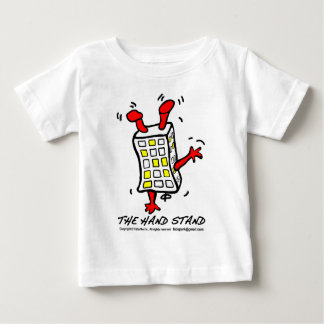 Hand Stand Building Baby T-Shirt