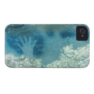 Hand stencil, from upper section of the Spotted Ho iPhone 4 Case