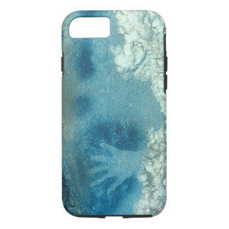 Hand stencil, from upper section of the Spotted Ho iPhone 7 Case