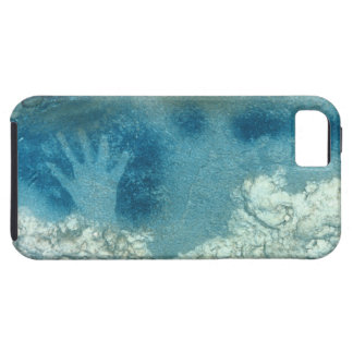 Hand stencil, from upper section of the Spotted Ho iPhone SE/5/5s Case