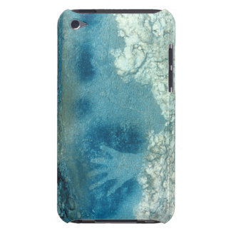 Hand stencil, from upper section of the Spotted Ho iPod Touch Case-Mate Case