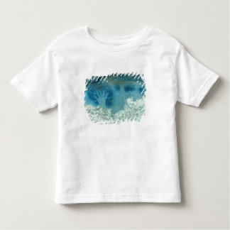Hand stencil, from upper section of the Spotted Ho T Shirt