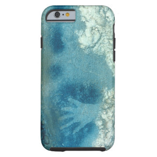 Hand stencil, from upper section of the Spotted Ho Tough iPhone 6 Case