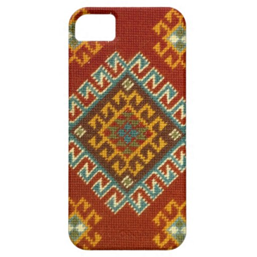 Hand stitched oriental carpet iPhone 5 cases