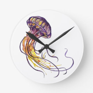HAND TEMPLATE ROUND WALL CLOCK