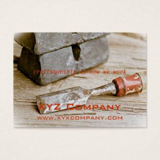 Hand Tools Business Card