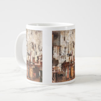 Hand Tools in Machine Shop Extra Large Mug