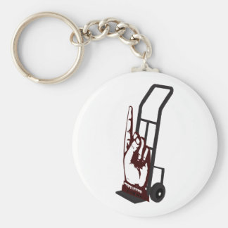 Hand Truck Keychain