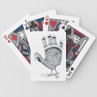 Hand Turkey Playing Cards