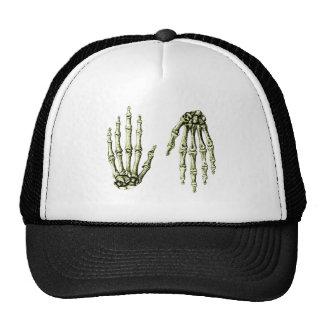Hand Up Down Bronze Trucker Hat