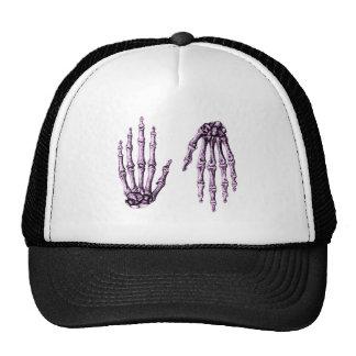 Hand Up Down Purple Trucker Hat