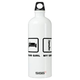 Hand Walking SIGG Traveler 1.0L Water Bottle