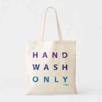 Hand Wash Only Message Bags