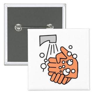 Hand Washing Button