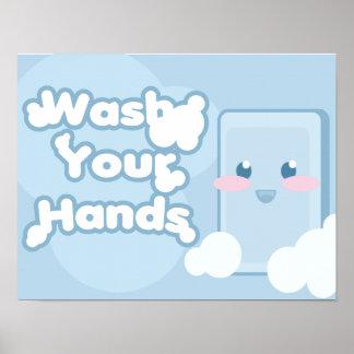Hand Washing Poster